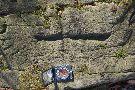 Nápisy na kameni v oblasti Banisko