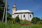 Gréckokatolícky chrám Presvätej Bohorodičky Ochrankyne v obci Kríže z roku 1852.