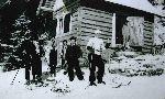 Chmelárova chata - prvá chata na Lysej