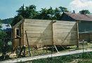 Výstavba kaplnky na cintoríne v obci Drienica