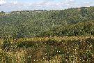 Výhľad zo Škaredého na hlavný hrebeň