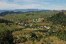 Výhľad na obec Milpoš