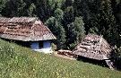 Pôvodná drevenica Štefana Timuru v osade Baranie