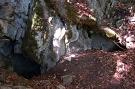 Jazvečia jaskyňa - horný vchod