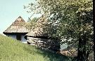 Pôvodná drevenica v osade Baranie