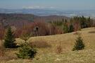 Pohľad z Malého Minčola na Tatry
