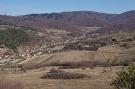 Výhľad na obec Milpoš. Oblasť Koscelisko.