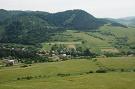 Pohľad na obec Potoky z Kamenického hradu