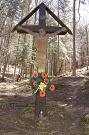 Ústredný kríž na novom cintoríne v Ambrušovciach