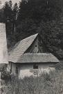 Opustená drevenica Štefana Blaščáka v osade Baranie
