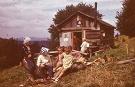 Koliba pod vrchom Lysá - sezónne obydlie pastierov od mája do októbra