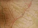 Milpoš na archívnej mape z roku 1859