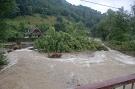 Topľa v Livove - dva dni po povodni