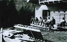 Výstavba turistickej chaty - Červená Voda
