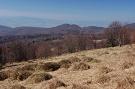 Pohľad na vrch Ostrá z južného svahu Dvorísk