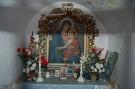 Interiér kaplnky na Priehybách