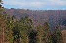 Dolina Kalinov, vzadu hrebeň medzi predvrcholom Minčola a Lazmi